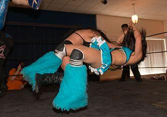 Shelly Martinez - Shelly Martinez executing the FTS (Fun Time Shelly) on Alexia Nicole