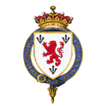 Shield of arms of Francis Egerton, 1st Earl of Ellesmere, KG, PC.png