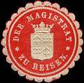 Siegelmarke Der Magistrat zu Reisen W0311347.jpg