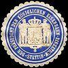 Siegelmarke Der Präsident der Königlichen Eisenbahn - Direktion - Stettin W0216065.jpg