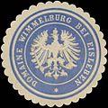Siegelmarke Domaine Wimmelburg bei Eisleben W0364910.jpg