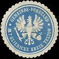 Siegelmarke Gemeinde-Vorstand Altglienicke Kreis Teltow W0382486.jpg