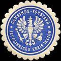 Siegelmarke Gemeinde - Vorstand - Alt Glienicke Kreis Teltow W0216449.jpg