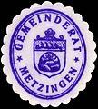 Siegelmarke Gemeinderat - Metzingen W0229375.jpg