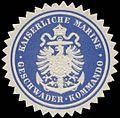 Siegelmarke K. Marine Geschwader-Kommando W0357547.jpg