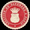 Siegelmarke Legation de Danemark a Paris W0223634.jpg