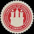 Siegelmarke Prüfungs-Commission für Bureau-Assistenten Hamburg W0355912.jpg