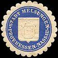 Siegelmarke Stadt Melsungen - Provinz Hessen-Nassau W0262705.jpg