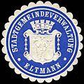 Siegelmarke Stadtgemeindeverwaltung - Eltmann W0234960.jpg
