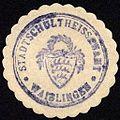 Siegelmarke Stadtschultheissenamt - Waiblingen W0229148.jpg