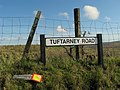 Sign, Tuftarney Road - geograph.org.uk - 1547786.jpg