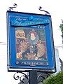 Sign for the Elizabethan Inn - geograph.org.uk - 1366317.jpg