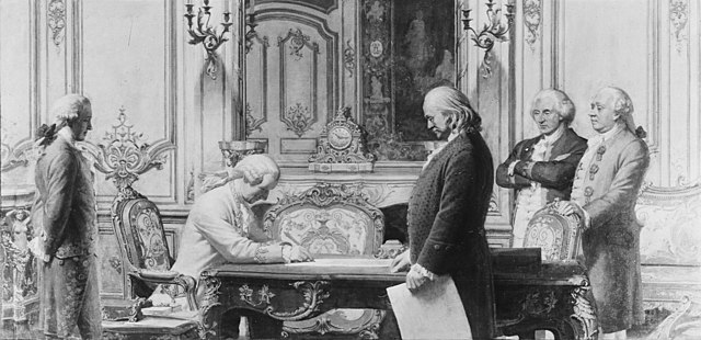 Signing of the Treaty of Amity and Commerce and of Alliance Between France and the United States