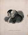 Simon and Origet. Line engraving by A. F. B. Geille after J. Wellcome V0006873.jpg