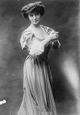Simone Le Bargy - Madame Simone, in 1911.