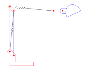 Diagram Of A Single Forearm Lamp