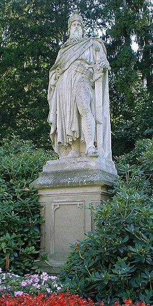 Barbarossa city - Memorial for Frederick Barbarossa in Sinzig