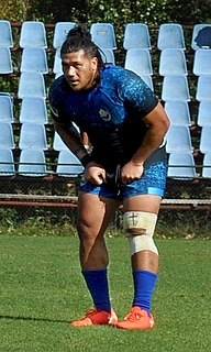 Sione Fakaosilea rugby union player (1987-)
