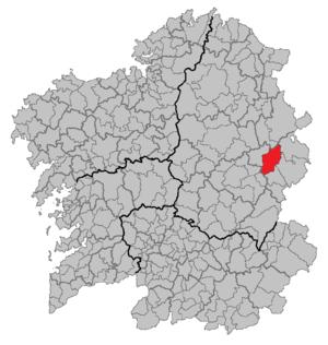 Becerreá - Image: Situacion Becerreá