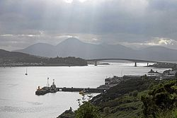 Skye Bridge og Kyle of Lochalsh