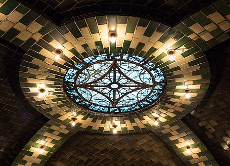 Skylight in the abandoned City Hall Station (32155).jpg