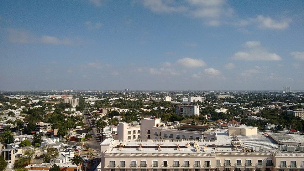 Skyline Mérida Yucatan