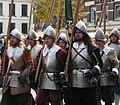 Slag om Grolle 2008-2 - Piekeniers marcheren naar het slagveld.jpg