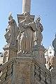 Sloup se sousoším Nejsvětější Trojice naKrakonošově náměstí v Trutnově 04.JPG