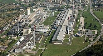 Slovalco - Image: Slovalco aerial