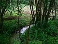 Small stream, Marshfield Wood - geograph.org.uk - 478719.jpg