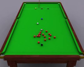 11h31 - Taille billard snooker ...