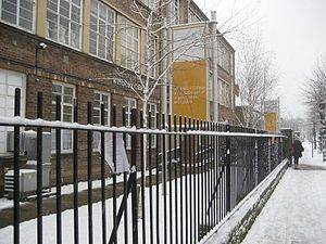 Wimbledon College of Arts - Image: Snow 2 470x 352