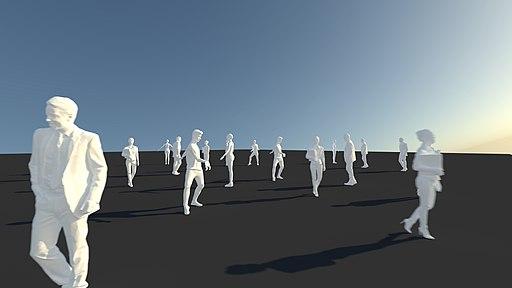 Social Distance (Illustration)
