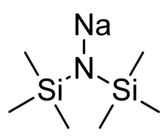 Sodium bis(trimethylsilyl)amide - Image: Sodium bis(trimethylsilyl)a mide