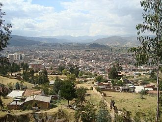 Sogamoso - View of Sogamoso in the Iraca Valley