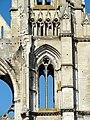 Soissons (02), abbaye Saint-Jean-des-Vignes, abbatiale, clocher nord, 1er étage, vue depuis l'est.jpg