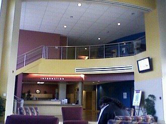 Solano Community College - The main lobby of Vallejo campus
