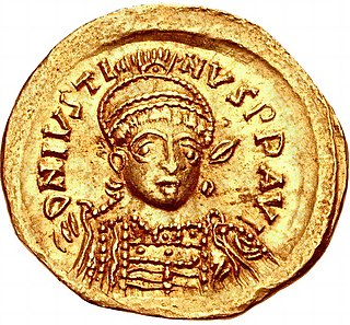 Emperor of the Byzantine Empire from 518 to 527