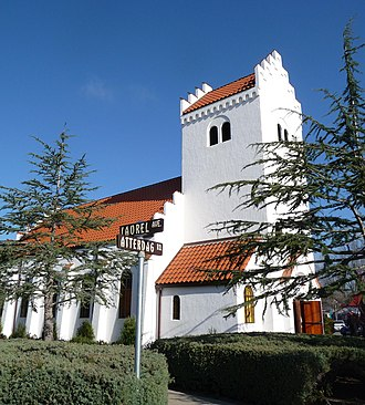 Solvang, California - Bethania Lutheran Church (1928)