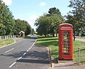 Somersham village street and telephone box - geograph.org.uk - 553494.jpg