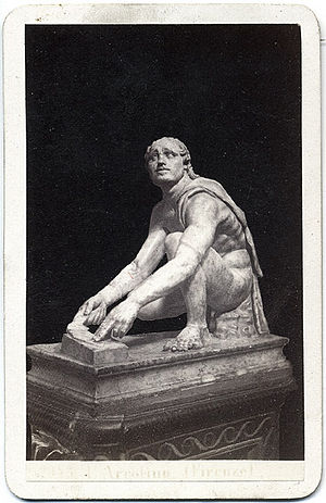 Arrotino - Image: Sommer, Giorgio (1834 1914) n. 2953 Arrotino (Firenze)