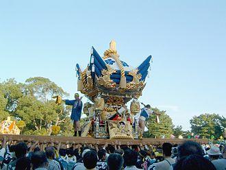 Takasago, Hyōgo - Futon Yatai in Sone Tenmangu Festival on October