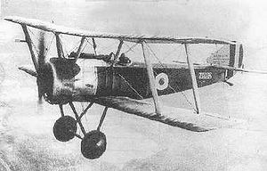 Sopwith Pup - Sopwith Pup in flight (1917)