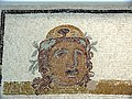 Sousse mosaic theatre masks detail 03.JPG