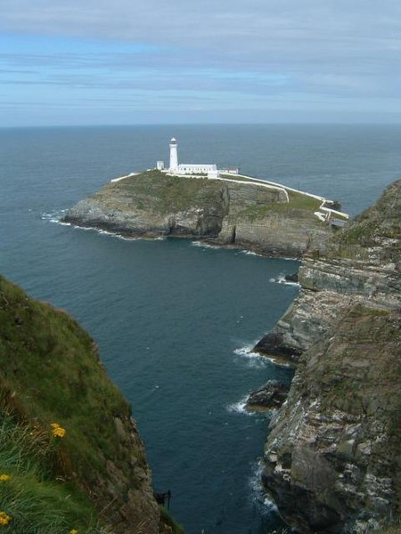 File:South Stack Lighthouse, Holyhead Mountain, Anglesey