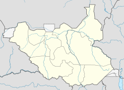 ജൂബ is located in South Sudan