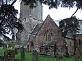 South side of Brampford Speke church (geograph 2278667).jpg