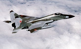 240th Fighter Aviation Division - A Mikoyan MiG-29 of the type operated by the 86th Guards Fighter Aviation Regiment