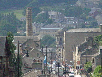 Sowerby Bridge - Image: Sowerby Bridge in 2005