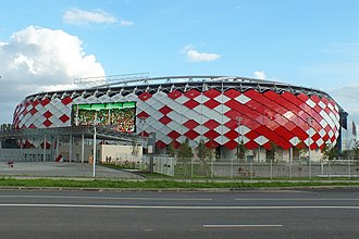 2017 FIFA Confederations Cup - Image: Spartak stadium (Otkrytiye Arena), 23 August 2014